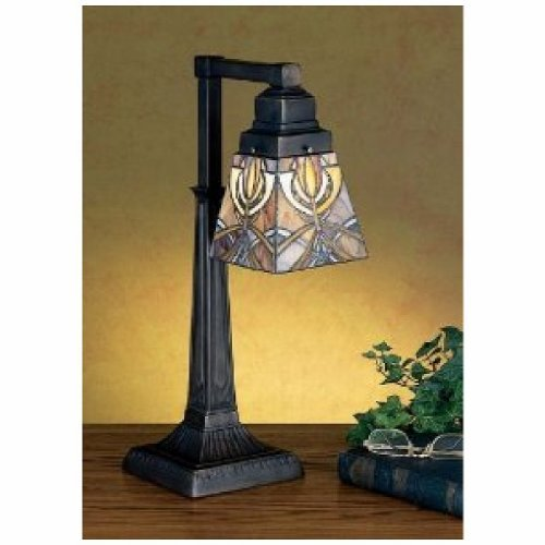 20 Inch H Glasgow Bungalow 1 Lt Desk Lamp Table Lamps