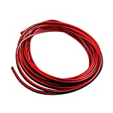 3M Car Interior Strip Decor Door Sticker Moulding Styling Trim Decals Line - 5 Colors Available Gessppo (Red)