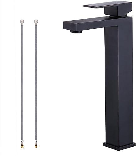 KES cUPC NSF Certified BRASS Lead-Free Brass Bathroom Sink Faucet Single Handle Lavatory Single Hole Vanity Sink Faucet Oil Rubbed Bronze, L3120BLF-7
