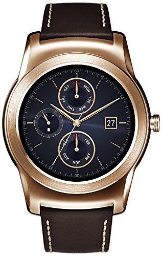 LG Watch Urbane Smartwach, Display P-OLED 1.3'', Oro [Italia] product image