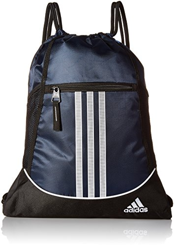 adidas Alliance II Sackpack, Collegiate Navy, One Size