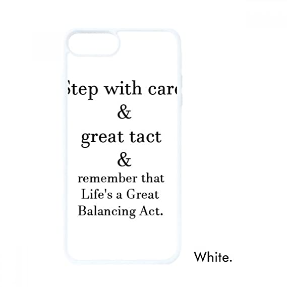 Amazoncom Care And Tact Give You Balance Life Quotes For Iphone 7