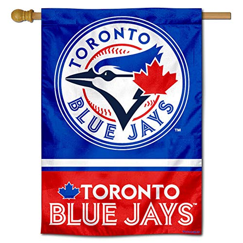 WinCraft Toronto Blue Jays Double Sided House Flag