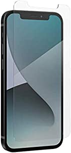 ZAGG InvisibleShield Glass Elite Plus Screen Protector - Made for iPhone 12 Pro, iPhone 12, iPhone 11, iPhone XR - Case Friendly Screen - Impact & Scratch Protection, clear (200106651)