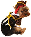 Anit Accessories Pirate Captain Dog Costume, 12-Inch