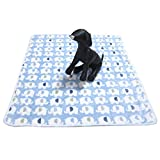 Alfie Pet by Petoga Couture - Abia Animal Blanket for Dogs and Cats - Color: Blue, Size: Large