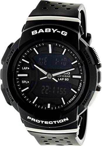 Casio Women's Baby G BGA240-1A1 Black Resin Japanese Quartz Diving Watch