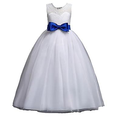 Amazon.com Lanhui Toddler Flower Girl Dresses Age 11 Lace