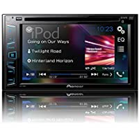 Pioneer AVH-290BT Multimedia DVD Receiver with 6.2' WVGA Display and Built-in Bluetooth