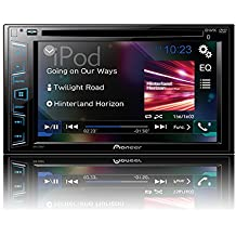 """Pioneer AVH-290BT Multimedia DVD Receiver with 6.2"""" WVGA Display and Built-in Bluetooth"""