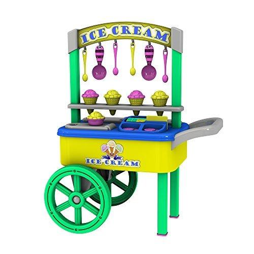 My Very Own Ice Cream Cart Role Play Pretend Play Set - Ice Cream Vending Cart