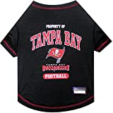 PET SHIRT for Dogs & Cats - NFL TAMPA BAY