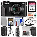 Canon PowerShot G7 X Mark II Wi-Fi Digital Camera with 64GB Card + Case + Battery & Charger + Tripod + Sling Strap + Kit Review