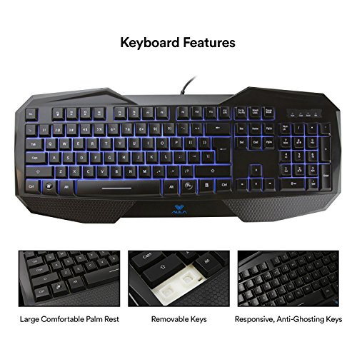 51ZL6x90zuL - AULA-SI-859-Backlit-Gaming-Keyboard-with-Adjustable-Backlight-Purple-Red-Blue-USB-Wired-Illuminated-Computer-Keyboard