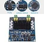 TPA3116D2 Wireless Bluetooth 4.0 Dual Channel 120W+120W Audio Receiver Digital Amplifier Board DC 12V-24V for DIY Home Sound Car Audio from Walfront
