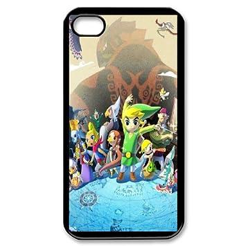 Custom Case The Legend of Zelda for iPhone 4,4S Y3U5238687 ...
