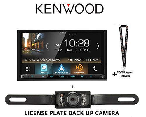 Kenwood Ddx8905s 6 95  Multimedia Receiver   License Plate Backup Camera   Sound Of Tri State Lanyard
