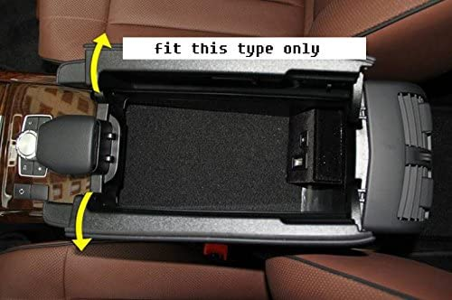 2015 Automatic itdegno Car Center Console Armrest Box Glove Box Secondary Storage Compatible with Mercedes Benz E Class W212 2010