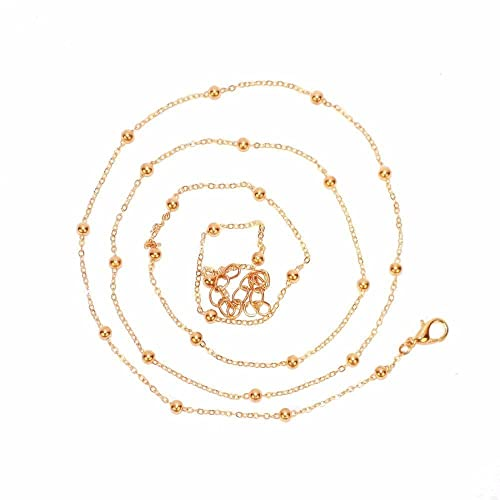 22e10fcc222 Buy Joker & Witch Golden Bead Waist Chain for women Online at Low Prices in  India | Amazon Jewellery Store - Amazon.in
