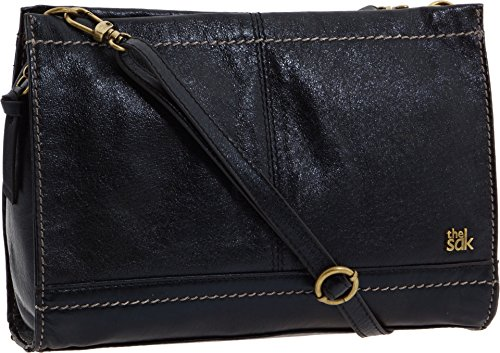 The Sak Iris Clutch, Black Onyx