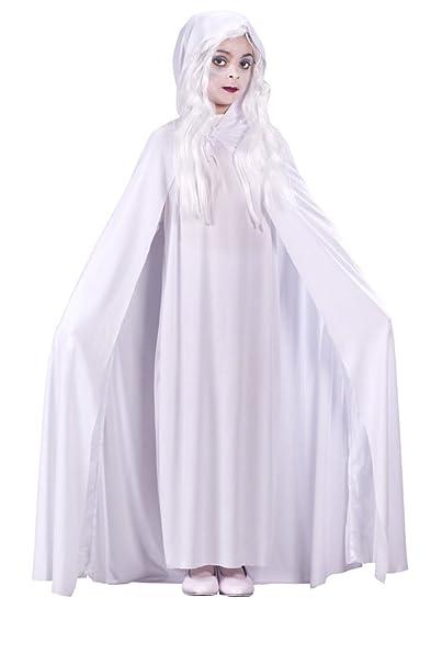 girls gossamer ghost child lg halloween costume child large