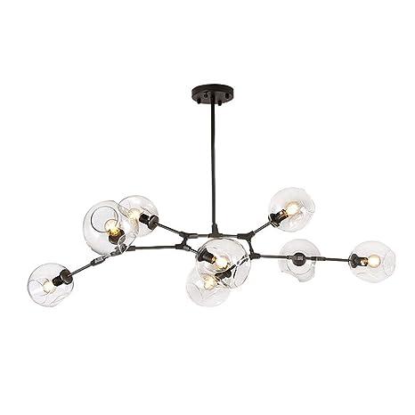 Amazon.com: Lámpara de techo E26 con pantalla esférica de ...