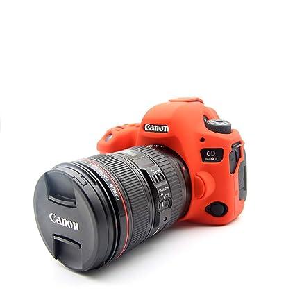 Zakao - Carcasa para cámara Digital Canon EOS 6D Mark II (Silicona ...