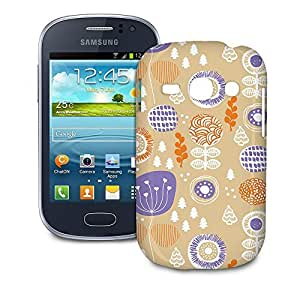 Phone Case For Samsung Galaxy Fame S6810 - Autumn Garden Snap-On Cover