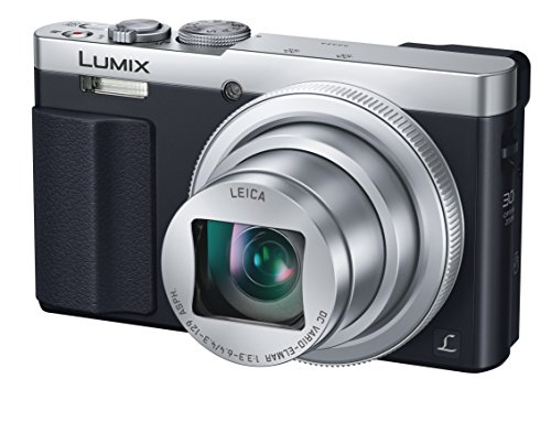 Panasonic DMC-TZ70 (Silver) LUMIX 30x Travel Zoom Digital Camera with Eye Viewfinder WiFi NFC - International Version (No Warranty)