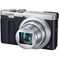 Panasonic DMC-TZ70 (Silver) LUMIX 30x Travel Zoom Digital Camera with Eye Viewfinder WiFi NFC - International Version (No Warranty) Overview Review Image