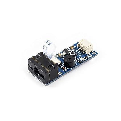 Amazon com: Waveshare Barcode Scanner Module 1D/2D Codes