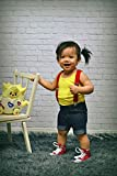 ELENKER Baby Boys Adjustable Elastic Solid Color
