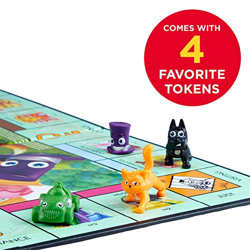 Monopoly Junior Board Game, Ages 5 and up (Amazon Exclusive) by Hasbro Gaming (Image #3)