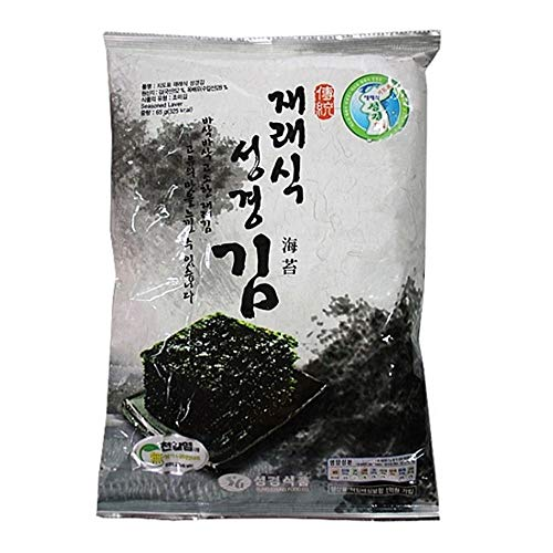 Korea Seaweed Full Size 60g Traditional Type by Sung Gyung Food