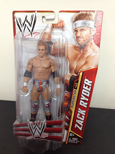 2013 WWE Zack Ryder Series Superstar #45 Action Figure Toy by Mattel