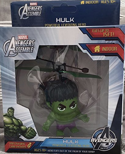 Marvel Avengers Heliball Flying Helicopter Powerful Levitation Sphere (Hulk(Body))