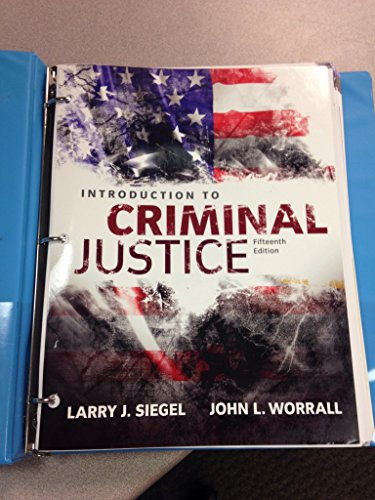 Intro.To Criminal Justice (Looseleaf)