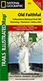 Yellowstone National Park SW - Old Faithful Trail Map