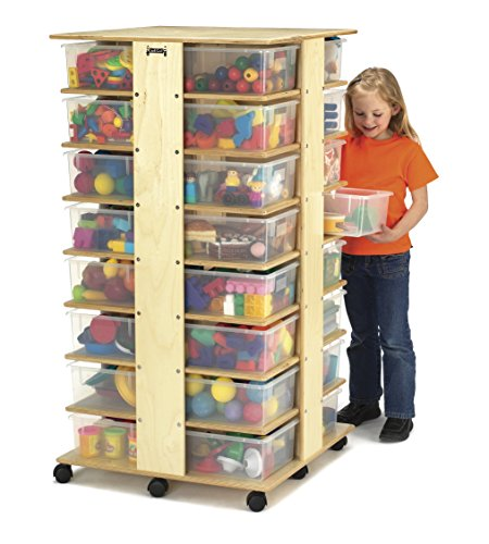 (Jonti-Craft 03540JC 32 Tub Tower with Clear Tubs)