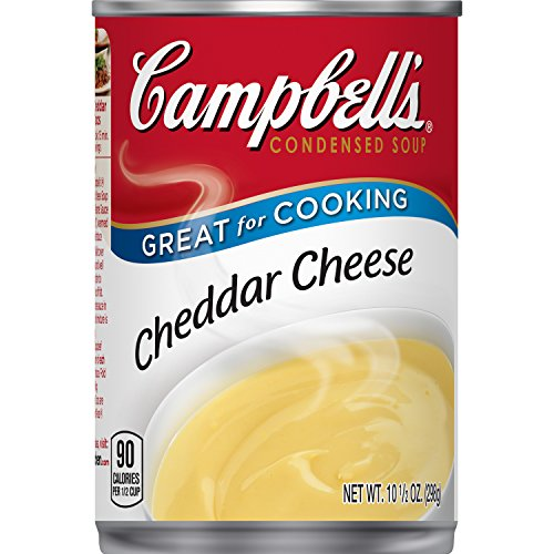Campbell's Condensed Soup, Cheddar Cheese, 10.5 Ounce (Pack of 12) (Cheese Soup Cheddar Recipe)