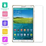 Tempered Glass Screen Protector for Samsung Galaxy Tab S 8.4 inch SM-T700 T705 Tablet - fengus Premium Crystal Clear Film Display Protector Guard Cover with 9H Hardness (1 Pack)