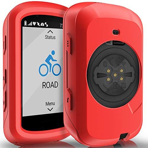 Funda para GPS Garmin Edge 530 (roja) de silicona