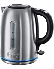 Russell Hobbs Buckingham Quiet Boil 1.7 L 3000 W Kettle 20460 - Brushed Stainless Steel Silver