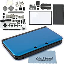 valuedeluxe fully complete blue nintendo 3ds xl housing case replacement with. Black Bedroom Furniture Sets. Home Design Ideas