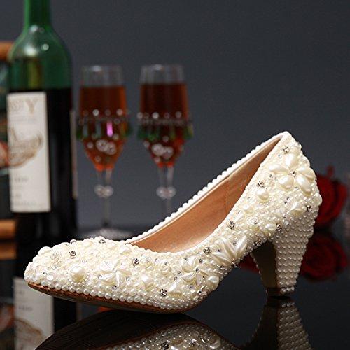Cuña Con 6 Heel Ivory Mujer Miyoopark 5cm Sandalias O8nqSBEHE