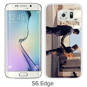WANY Beautiful Classic Pink Floyd 2 White Samsung Galaxy S6 Edge Case