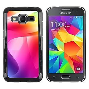 EJOY---Cubierta de la caja de protección la piel dura para el ** Samsung Galaxy Core Prime ** --Color de los remolinos
