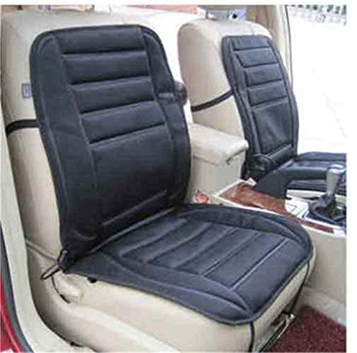 12V Universal coche Van asiento delantero calentador calentador de invierno calor Mat Pad Cojín, Negro