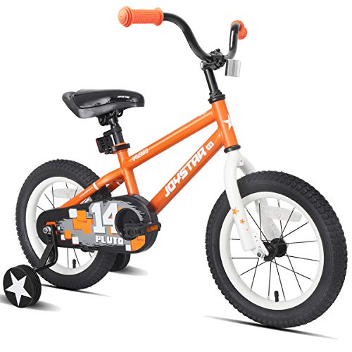 - JOYSTAR Kids Bike for 4 5 6 Years Boys, 16 Inch Child Bicycle with Training Wheels, Children Cycle with Full Chain Guard & DIY Sticker