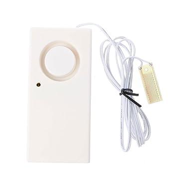 Kalttoy - Detector inalámbrico de Fugas de desbordamiento de Agua con Sensor de Alarma y Sistema de Seguridad para el hogar SD-1: Amazon.es: Hogar